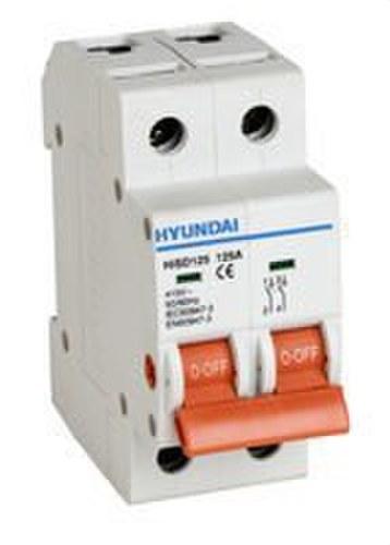 Seccionador modular HISD125 4 polos 100A