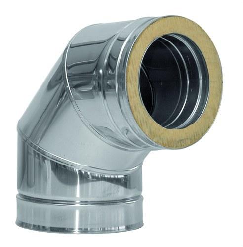 Codo 90º DP 304/304 diámetro 150