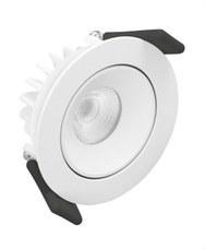 LEDVANCE 4058075042155 Spot LED DALI orientable 8W/3000K 660lm blanco IP20 30000h 3 años garantía