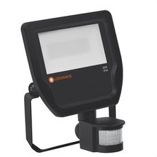 LEDVANCE 4058075143555 LUM.FLOODLIGHT LED SENSOR 20W 4000K NEGRO