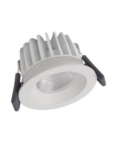 SPOT LED FIX 8W/3000K WT DIM IP44