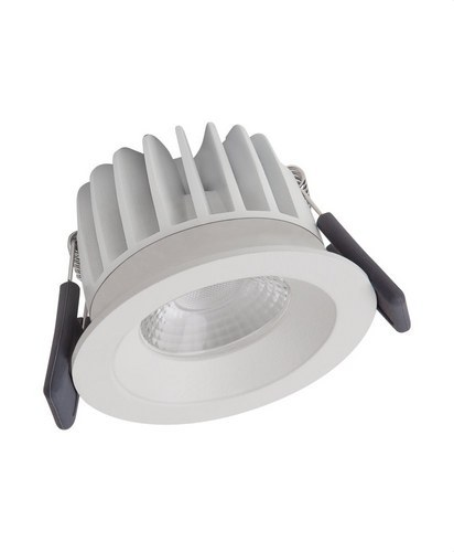 SPOT LED FIX 8W/4000K WT DIM IP44