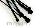 Brida FS 140BW-C exterior 140x3,5 negro con referencia 7000035290 de la marca 3M ELECTRICOS.