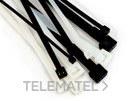Brida FS 160AW-C exterior 160x2,5mm negro con referencia 7000035286 de la marca 3M ELECTRICOS.