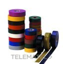 CINTA TEMFLEX 1500 19mmx20m PVC AMARILLO ROLLO con referencia 7000062294 de la marca 3M ELECTRICOS.