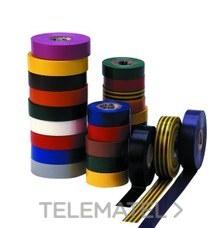 CINTA TEMFLEX 1500 19mmx20m PVC GRIS ROLLO con referencia 7000062296 de la marca 3M ELECTRICOS.
