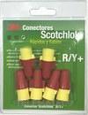 CONECTOR SCOTCHLOK R/Y+RESORTE MINI PACK con referencia 7010261501 de la marca 3M ELECTRICOS.