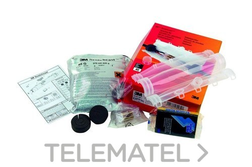 Kit empalme recto Scotchcast 92-NB-A5 con referencia 7000035342 de la marca 3M ELECTRICOS.