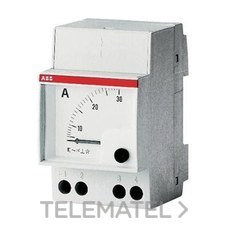AMPERIMETRO DIRECTO AMT 2-10 CORRIENTE CONTINUA con referencia 2CSM410040R1001 de la marca ABB-ENTRELEC.