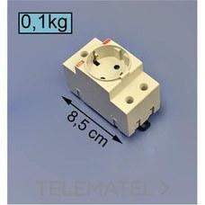 BASE ENCHUFE SCHUKO M1175 ESTANDARD con referencia 2CSM210000R0721 de la marca ABB-ENTRELEC.