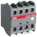 CONTACTO AUXILIAR CA5-22E FRONTAL 2NA+2NC con referencia 1SBN010040R1022 de la marca ABB-ENTRELEC.