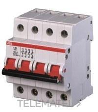 SECCIONADOR E200I TETRAPOLAR 125A 230VCA con referencia 2CDE284001R0125 de la marca ABB-ENTRELEC.