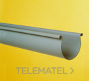 CANALON PVC 100-C DIAMETRO 125 GRIS EUROPEO con referencia 1002359 de la marca ADEQUA.