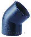 CODO HEMBRA-HEMBRA 45 25mm C425 PVC con referencia 1000007 de la marca ADEQUA.
