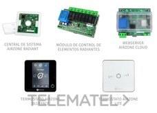 Pack RADIANT365 cable 3 termostatos blanco+WSERVER con referencia AZRA6BFSC3BW de la marca AIRZONE.