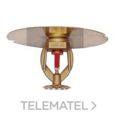 """ROCIADOR NORMAL 1/2"""" 5mm K80 COLGANTE CROMO 57ºC con referencia P01S56002 de la marca ANBER."""