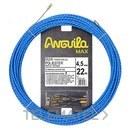 PASACABLES ANGUILA MAX 4,5mm TRIPLE TRENZADO 22m AZUL con referencia 75045022 de la marca ANGUILA.