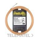 PASACABLES ANGUILA MAX 4mm NYLON SALMON 21m con referencia 15240021 de la marca ANGUILA.