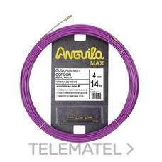 ANGUILA 65040014 PCABL.ANGUILA MAX CORDON ACERO NYLON 14m