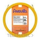 PASACABLES FIBRA AUTOENERGETICA 3,5mm 15m AMARILLO con referencia 30350015 de la marca ANGUILA.