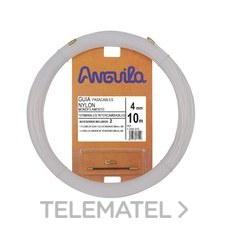 ANGUILA 12004010 PASACABLES INTERCAMB.NYLON 4mm 10m NAT.