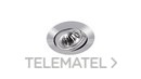 Empotrable halógena basculante inyectado lámpara dicroica diámetro 50 cromo mate con referencia 00380101Q de la marca ARKOSLIGHT.