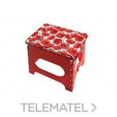 TABURETE PLEGABLE 29x22x39cm AZUL con referencia TB-039-A de la marca ARREGUI.