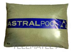 ASTRALPOOL 00596 CARGA FILTRANTE SILEX 0,4-0,8mm PVP X KILO