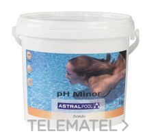 ASTRALPOOL 11385 REG.PH MINOR 8 KL -  PVP X KL