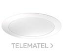 Downlight circular plano Elyos 18W 5000K blanco con referencia DOW-029 de la marca ATMOSS.