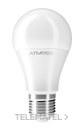 Lámpara led standard Ampera A60 E27 12W 160º 4200K con referencia BLED-074 de la marca ATMOSS.