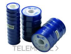 ATUSA TC001950 Cinta teflón 0,1mmx19mmx50m 0,3