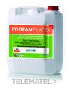 Emulsión de resinas acrílicas blanco PROPAM LATEX para confección de morteros mejorados. (En bidón de 25l) con referencia C0568 de la marca BETEC.