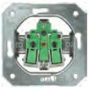 MECANISMO PARA CONDUCTO FLEXIBLE 2,5mm SIN TORNILLO GARRA con referencia 5UB11015KK de la marca BJC.