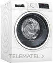 Lavadora con función secado WDU28540ES 1400rpm 10-6kg acabado blanco con referencia WDU28540ES de la marca BOSCH.