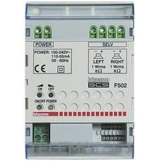 BTICINO F502 Amplificador 4 módulos DIN