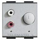 ENTRADA RCA 2 MODULOS LIGHT TECH con referencia NT4560 de la marca BTICINO.