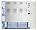 PLACA FRONTAL AUDIO 2P 2 CONTACTOS ALLMETAL con referencia 351141 de la marca BTICINO.