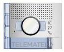 PLACA FRONTAL AUDIO/VIDEO 1P 1 CONTACTO ALLMETAL con referencia 351211 de la marca BTICINO.