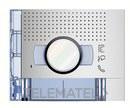 PLACA FRONTAL AUDIO/VIDEO 2P 2 CONTACTOS ALLMETAL con referencia 351221 de la marca BTICINO.