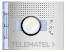 PLACA FRONTAL AUDIO/VIDEO ALLMETAL con referencia 351201 de la marca BTICINO.