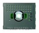 PLACA FRONTAL AUDIO/VIDEO GRAN APERTURA ROBUR con referencia 351305 de la marca BTICINO.
