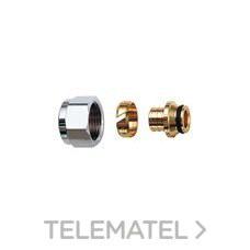 """ADAPTADOR EUROCONO CABEL 1/2"""" COLECTOR METALICO TUBO con referencia 29725C de la marca CABEL."""