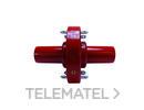BICONO UNION CVS 250A 24Kv 136mm con referencia 225844 de la marca CELLPACK.