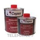 Bote disolvente-limpiador 1000cc con referencia 02431 de la marca CEPEX.