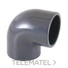 Codo 90° encolar PVC diámetro 315 con referencia 01727 de la marca CEPEX.