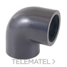 """Codo mixto 90° PVC diámetro 63x2"""" con referencia 01733 de la marca CEPEX."""