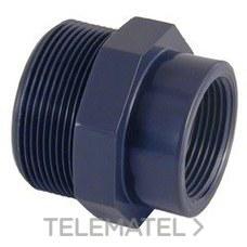 "CEPEX 02271 REDUCCION ROSCADA M-H PVC 1/2x3/4"""