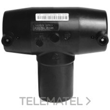 CEPEX 55502 TE 90o PE100 ELECTROSOLDABLE d.63