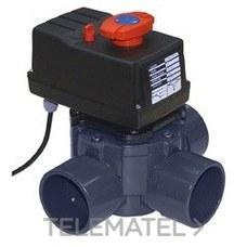 Válvula compuerta rotativa automática 3 vías 63-75 con referencia 41864 de la marca CEPEX.